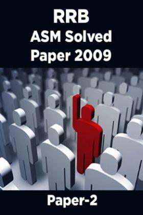 RRB ASM Solved Paper 2009 Paper-2