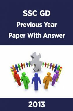 SSC GD Previous Year Paper With Answer 2013