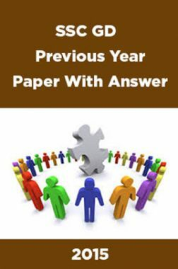 SSC GD Previous Year Paper With Answer 2015