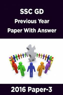 SSC GD Previous Year Paper With Answer 2016 Paper-3