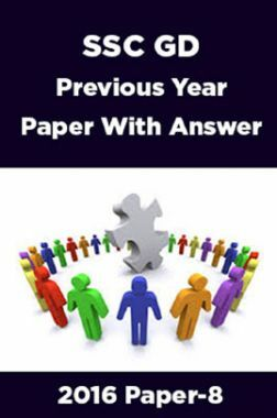 SSC GD Previous Year Paper With Answer 2016 Paper-8