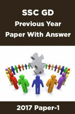 SSC GD Previous Year Paper With Answer 2017 Paper-1