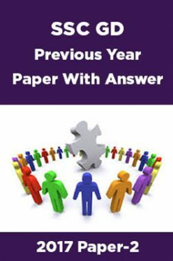 SSC GD Previous Year Paper With Answer 2017 Paper-2