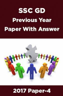 SSC GD Previous Year Paper With Answer 2017 Paper-4
