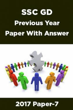 SSC GD Previous Year Paper With Answer 2017 Paper-7