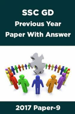 SSC GD Previous Year Paper With Answer 2017 Paper-9