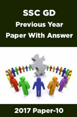 SSC GD Previous Year Paper With Answer 2017 Paper-10
