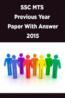 SSC MTS Previous Year Paper With Answer 2015