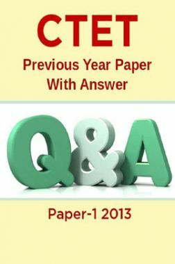 CTET Previous Year Paper With Answer Paper-1 2013