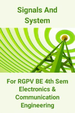 Signals And System For RGPV BE 4th Sem Electronics & Communication Engineering