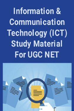 Information And Communication Technology (ICT) Study Material For UGC NET