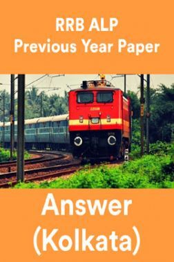 RRB ALP Previous Year Paper With Answer (Kolkata)