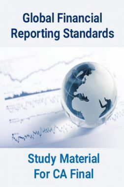 Global Financial Reporting Standards Study Material For CA Final