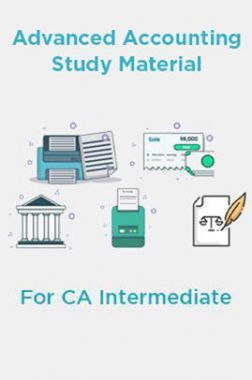 Advanced Accounting Study Material For CA Intermediate