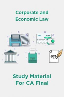 Corporate and Economic Law Study Material For CA Final