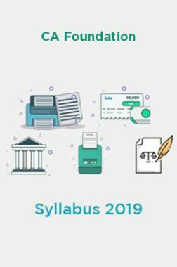 CA Foundation Syllabus 2019