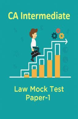 CA Intermediate Law Mock Test Paper-1