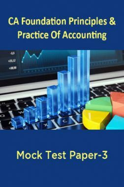CA Foundation Principles And Practice Of Accounting Mock Test Paper-3