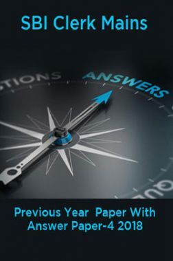 SBI Clerk Mains Previous Year  Paper With Answer Paper-4 2018