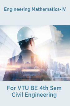 Engineering Mathematics-IV  For VTU BE 4th Sem Civil Engineering