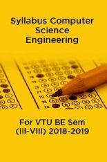 By Photo Congress || B e  Computer Science And Engineering Syllabus Vtu