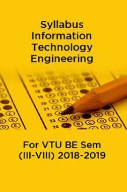Syllabus Information Technology Engineering For VTU BE Sem (III-VIII) 2018-2019