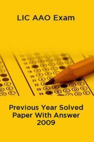 LIC AAO Exam Previous Year Solved Paper With Answer 2009