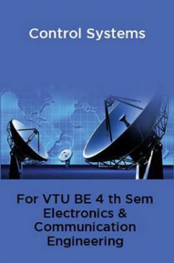 Control Systems For VTU BE 4th Sem Electronics & Communication Engineering