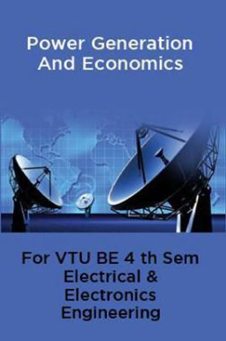 Power Generation And Economics For VTU BE 4th Sem Electrical & Electronics Engineering