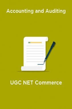 Accounting and Auditing-UGC NET Commerce