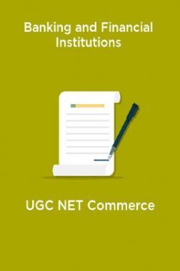 Banking and Financial Institutions-UGC NET Commerce