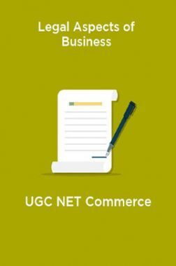 Legal Aspects of Business-UGC NET Commerce
