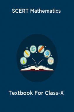 SCERT Mathematics Textbook For Class-X