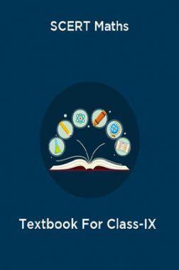 SCERT Maths Textbook For Class-IX