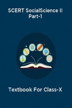 SCERT Social Science II Part-1 Textbook For Class-X