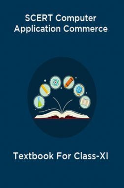 SCERT Computer Application Commerce Textbook For Class-XI