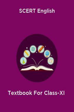 SCERT English Textbook For Class-XI