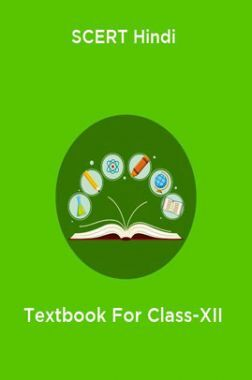 SCERT Hindi Textbook For Class-XII
