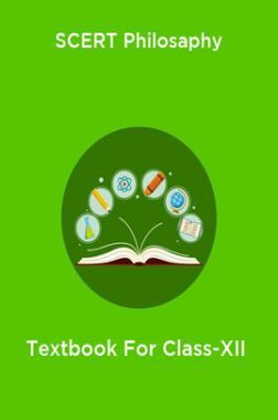 SCERT Philosaphy Textbook For Class-XII