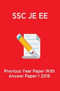 SSC JE EE Previous Year Paper With Answer Paper-1 2018