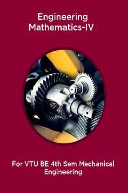 Engineering Mathematics-IV For VTU BE 4th Sem Mechanical Engineering