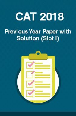 CAT 2018 Previous Year Paper with Solution (Slot I)