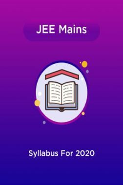 JEE Mains Syllabus For 2020
