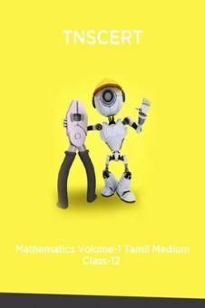 TNSCERT Mathematics Volume-1 Tamil Medium Class-12