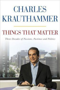 Things That Matter Three Decades Of Passions, Pastimes And Politics
