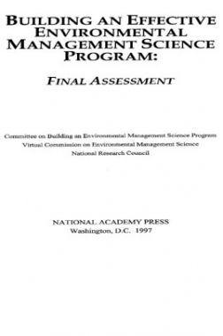 Building An Effective Environmental Management Science Program