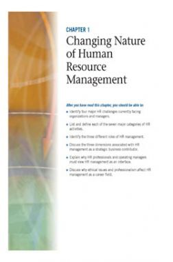 Changing Nature Of Human Resource Management