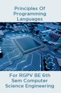 Principles Of Programming Languages For RGPV BE 6th Sem Computer Science Engineering