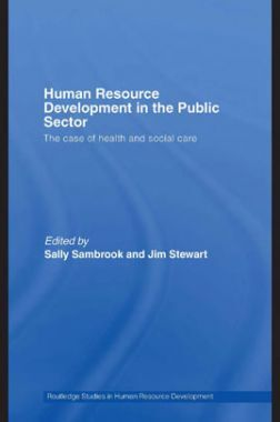 Human Resource Development In The Public Sector