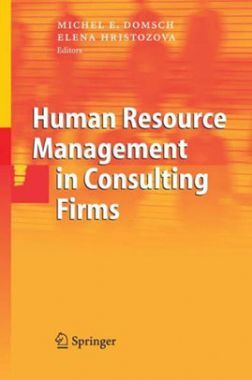 Humane Resource Management In Consulting Firms